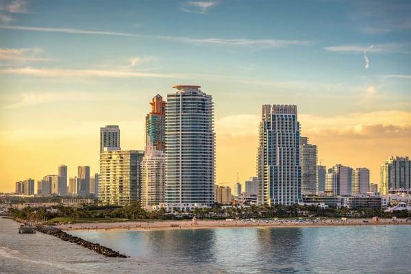 ميامي بيتش أو Downtown Miami العقارات