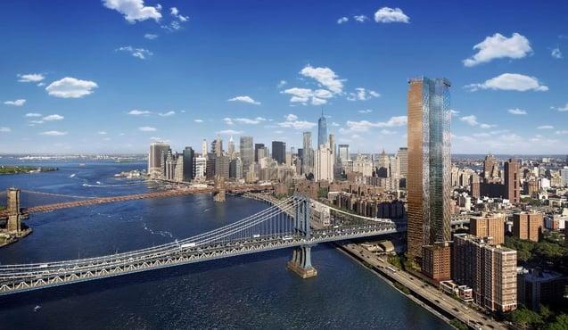 تخفيض ضريبي لمدة 20 سنة One Manhattan Square