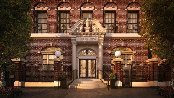 بارك القصر الفاخرة الطابق الكامل مساكن نيويورك
