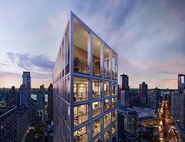 شقق مانهاتن للبيع The Park Loggia - 15 West 61 الشارع