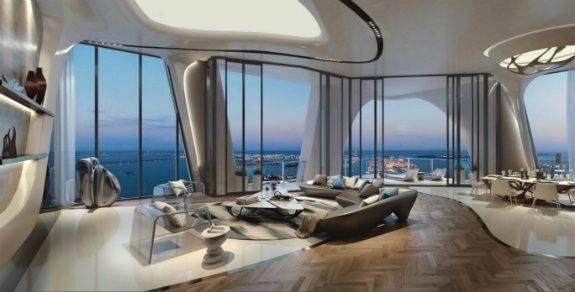 Zaha Hadid ميامي المباني الفاخرة