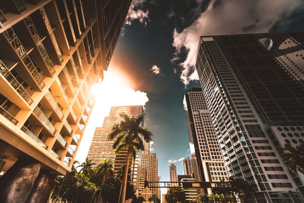 ارتفاع المباني السكنية في downtown miami